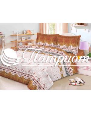 КПБ 1.5 спальный с 1 наволочкой 70*70, полиэстер 60 гр 2400-2